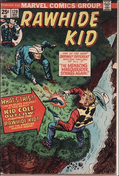 Rawhide Kid (1955) 120-A by Marvel