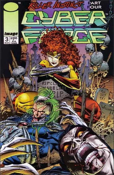 Cyberforce (1993) 3-A by Image