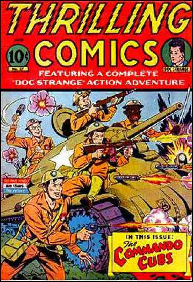 Thrilling Comics (1940) 37-A by Standard