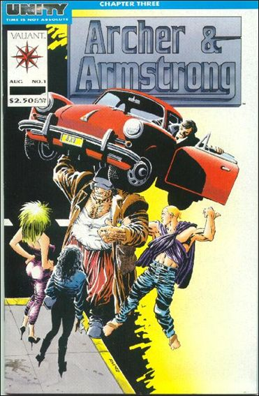 Archer & Armstrong (1992) 1-A by Valiant
