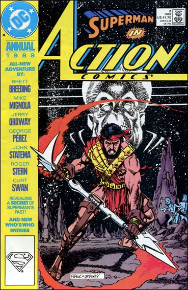 Action Comics Annual (1987) 2-A by DC