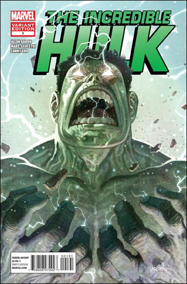 Incredible Hulk (2011)  1-B by Marvel