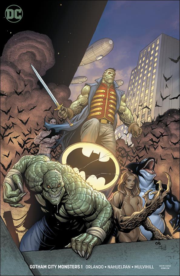 Gotham City Monsters 1-B by DC