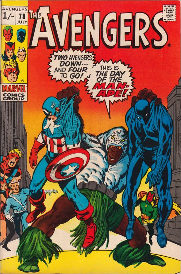 Avengers (1963) 78-B by Marvel