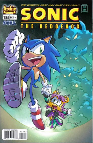 Sonic the Hedgehog (1993) 185-A by Archie