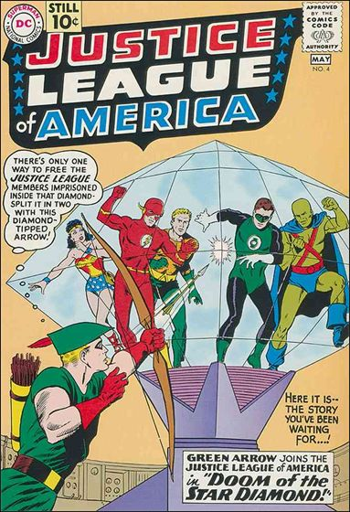Justice League of America (1960) 4-A by DC