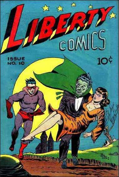 Liberty Comics (1945) 10-A by Green Publishing