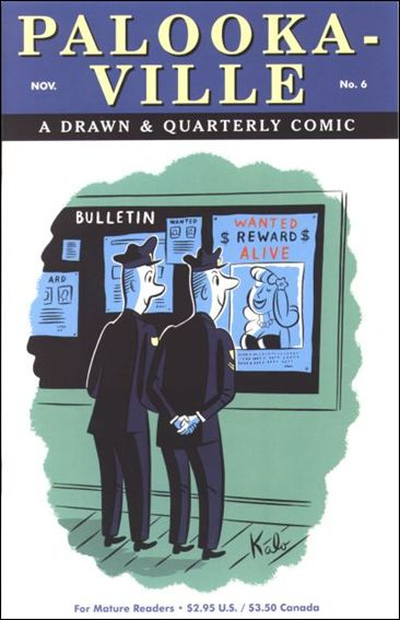 Palookaville 6-A by Drawn and Quarterly