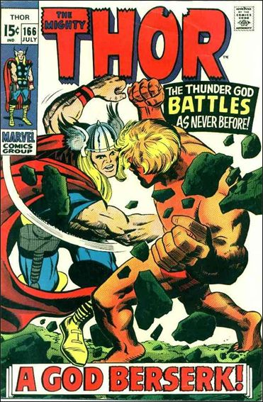 Thor (1966) 166-A by Marvel