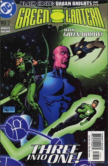 Green Lantern (1990) 163-A by DC