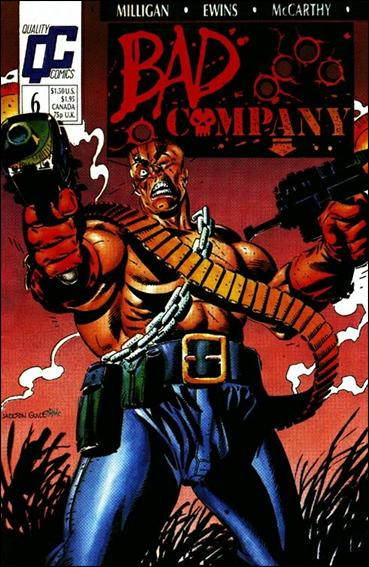 Bad Company 6-A by Quality Comics