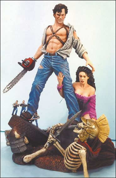 Army of Darkness: Tenth Anniversary Statue Army of Darkness Tribute Stance 1/1993 by Diamond Select