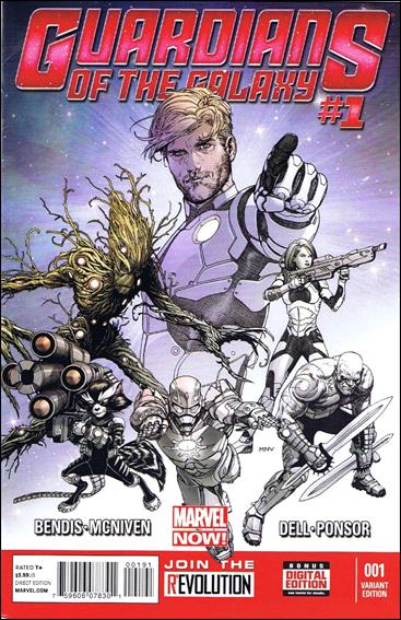 Guardians of the Galaxy (2013) 1-I by Marvel