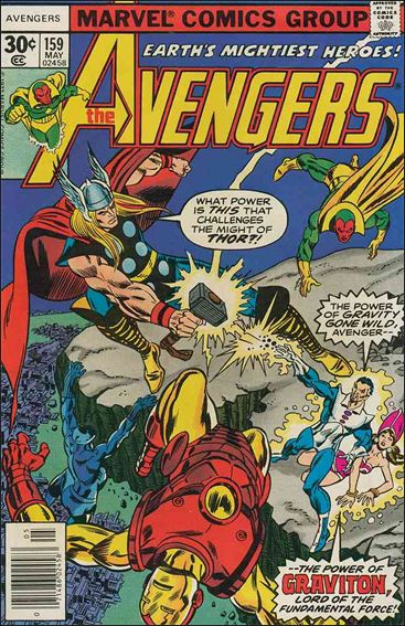 Avengers (1963) 159-A by Marvel