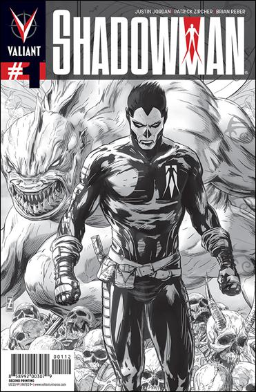 Shadowman (2012) 1-E by Valiant Entertainment