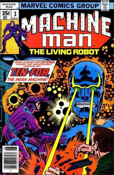 Machine Man (1978) 3-A by Marvel