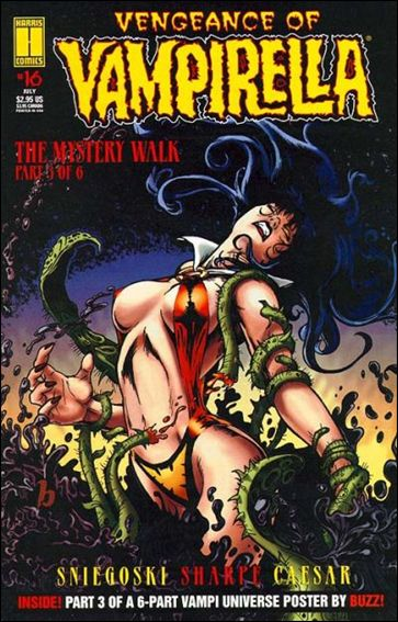 Vengeance of Vampirella 16-A by Harris