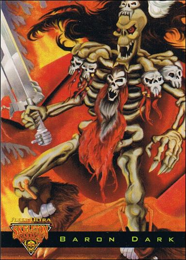 Fleer Ultra Skeleton Warriors (Lumabone Subset) One-A by Fleer