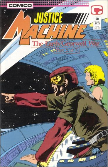 Justice Machine (1987) 20-A by Comico