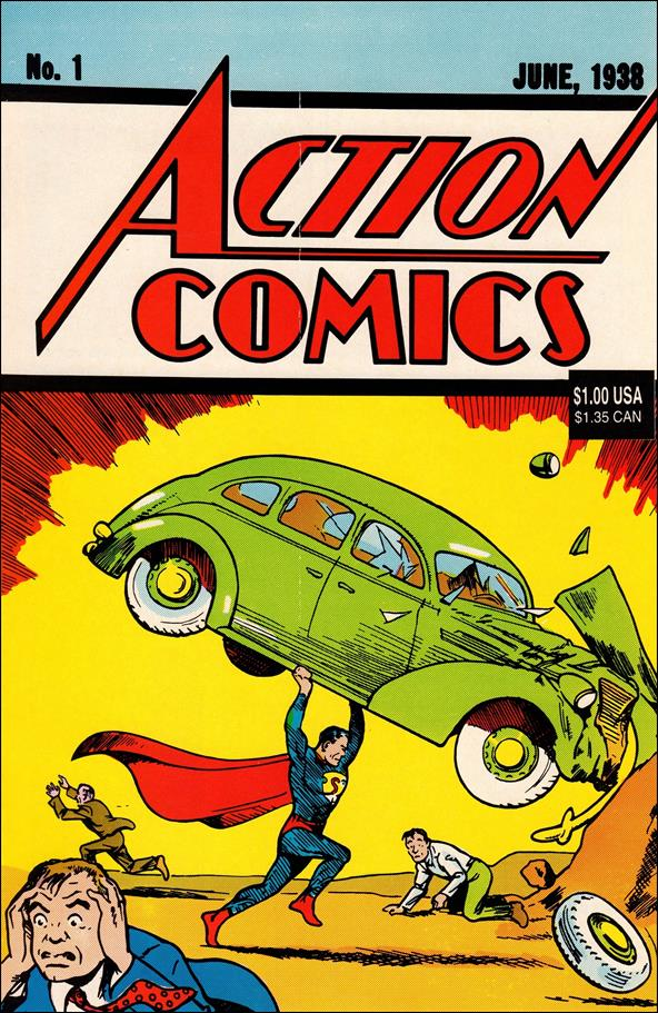 Action Comics (1938) 1-E by DC