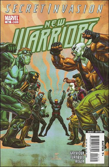 New Warriors (2007) 14-A by Marvel