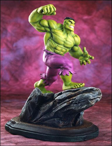 Marvel Mini-Statues Hulk (Green) 1/7000 by Bowen Designs