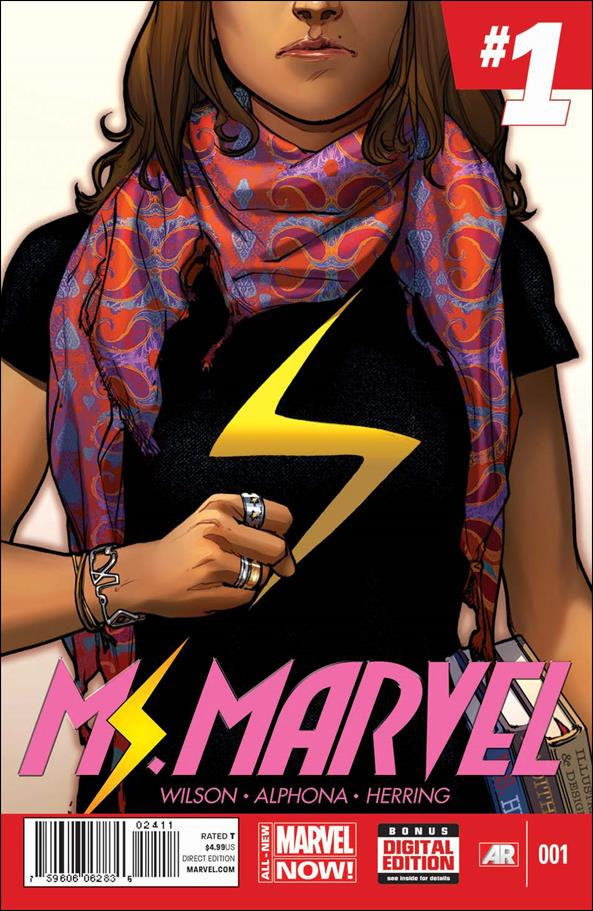 Ms. Marvel (2014)  1-A by Marvel