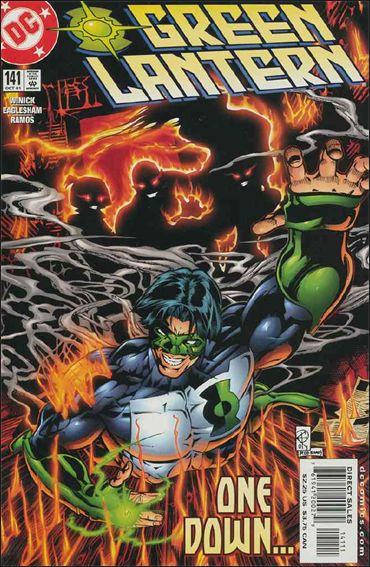 Green Lantern (1990) 141-A by DC