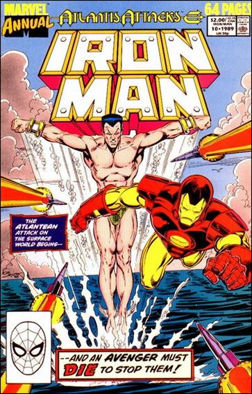Iron Man Annual 10-A by Marvel