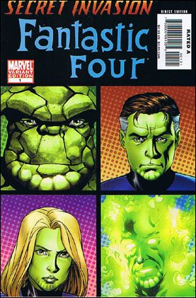 Secret Invasion: Fantastic Four 1-B by Marvel