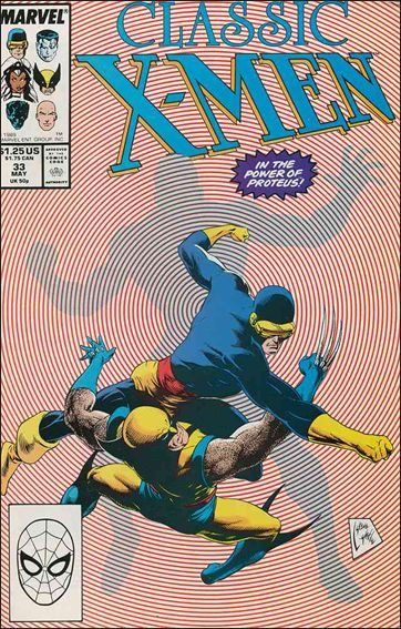 Classic X-Men 33-A by Marvel