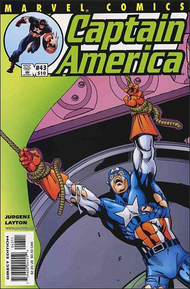 Captain America (1998) 43-A by Marvel