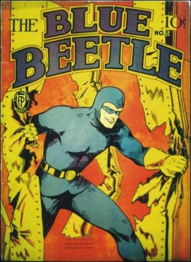 Blue Beetle (1939) 5-A by Fox