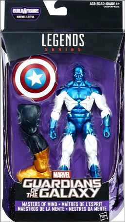 Marvel Legends Series: Guardians of the Galaxy (Titus Series) Masters of Mind (Major Victory)