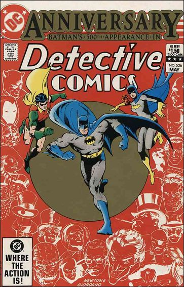 Detective Comics (1937) 526-A by DC