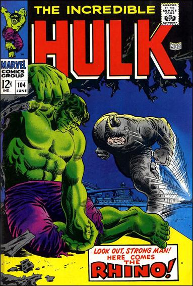 Incredible Hulk (1968) 104-A by Marvel