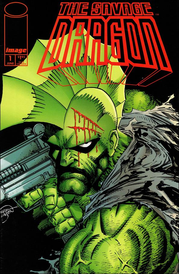 Savage Dragon (1993) 1-A by Image