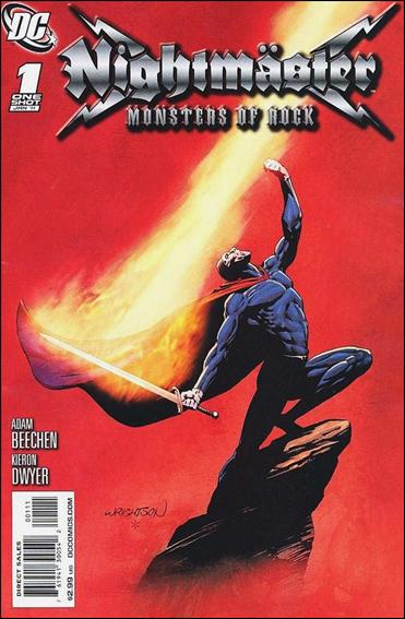 Nightmaster: Monsters of Rock 1-A by DC