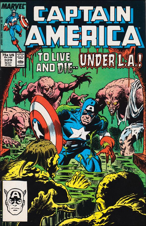 Captain America (1968) 329-A by Marvel