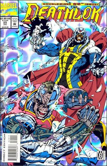 Deathlok (1991) 25-A by Marvel