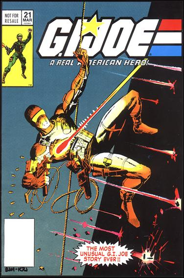 G.I. Joe: A Real American Hero 21-E by IDW