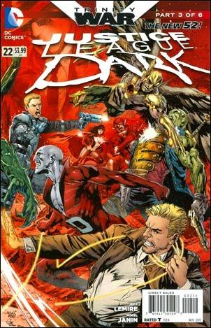 Justice League Dark 22-D by DC