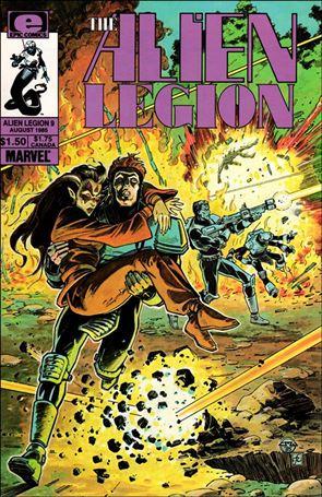 Alien Legion (1984) 9-A