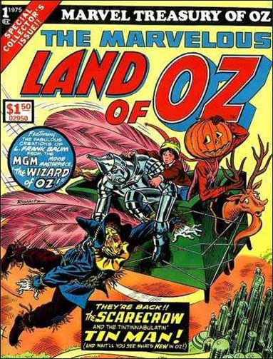 Marvel Treasury of Oz 1-A by Marvel