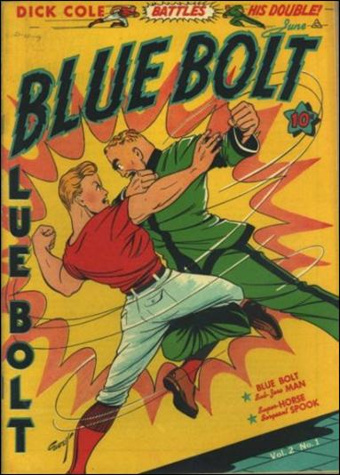 Blue Bolt (1941) 1-A by Novelty Press