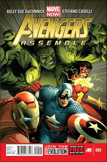 Avengers Assemble (2012) 9-A by Marvel