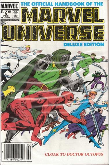 Official Handbook of the Marvel Universe (1985) 3-B by Marvel