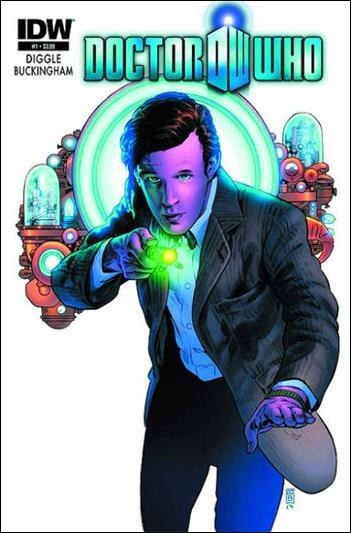 Doctor Who (2012) 1-F by IDW