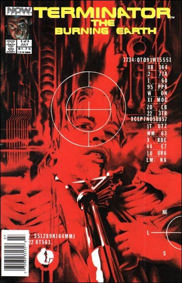 Terminator: The Burning Earth 5-A by Now Comics
