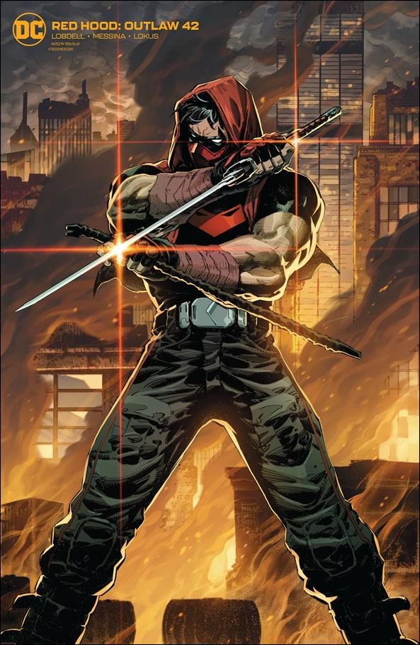 Red Hood: Outlaw 42-B by DC